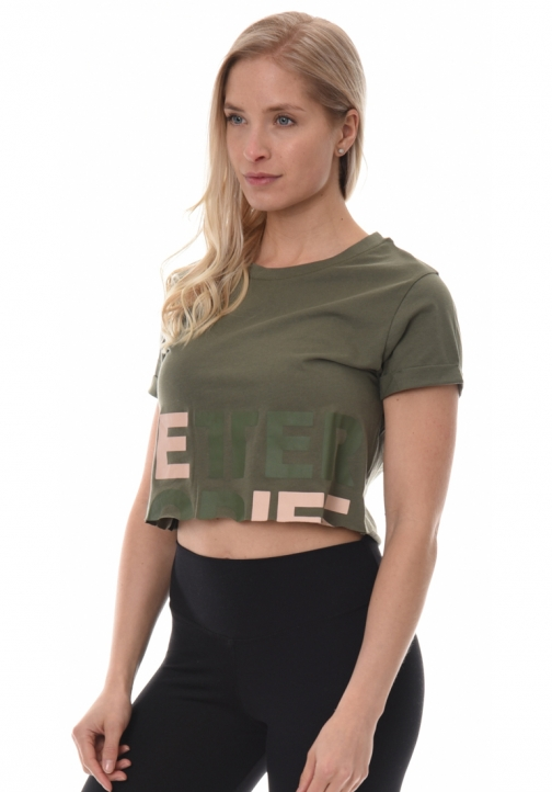 Astoria Cropped Tee