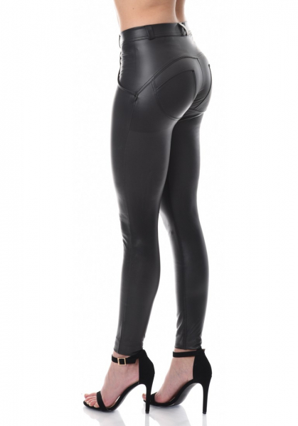 WR.UP® Eco Leather Shaping Effect - Mid Waist